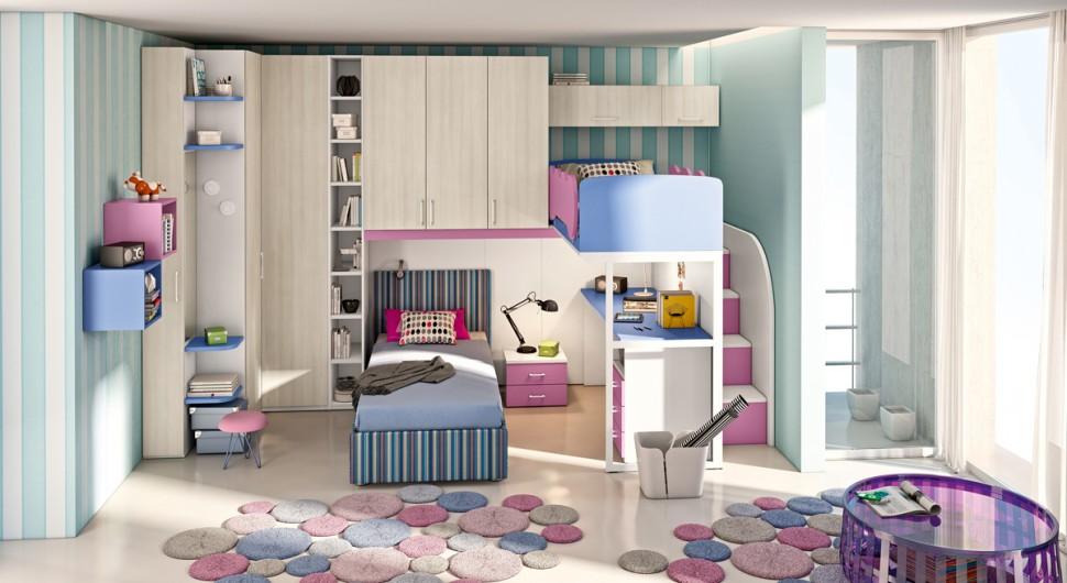 Camere Da Letto Per Ragazze Americane : Camerette da letto per bambini cameretta armadio ante cameretta