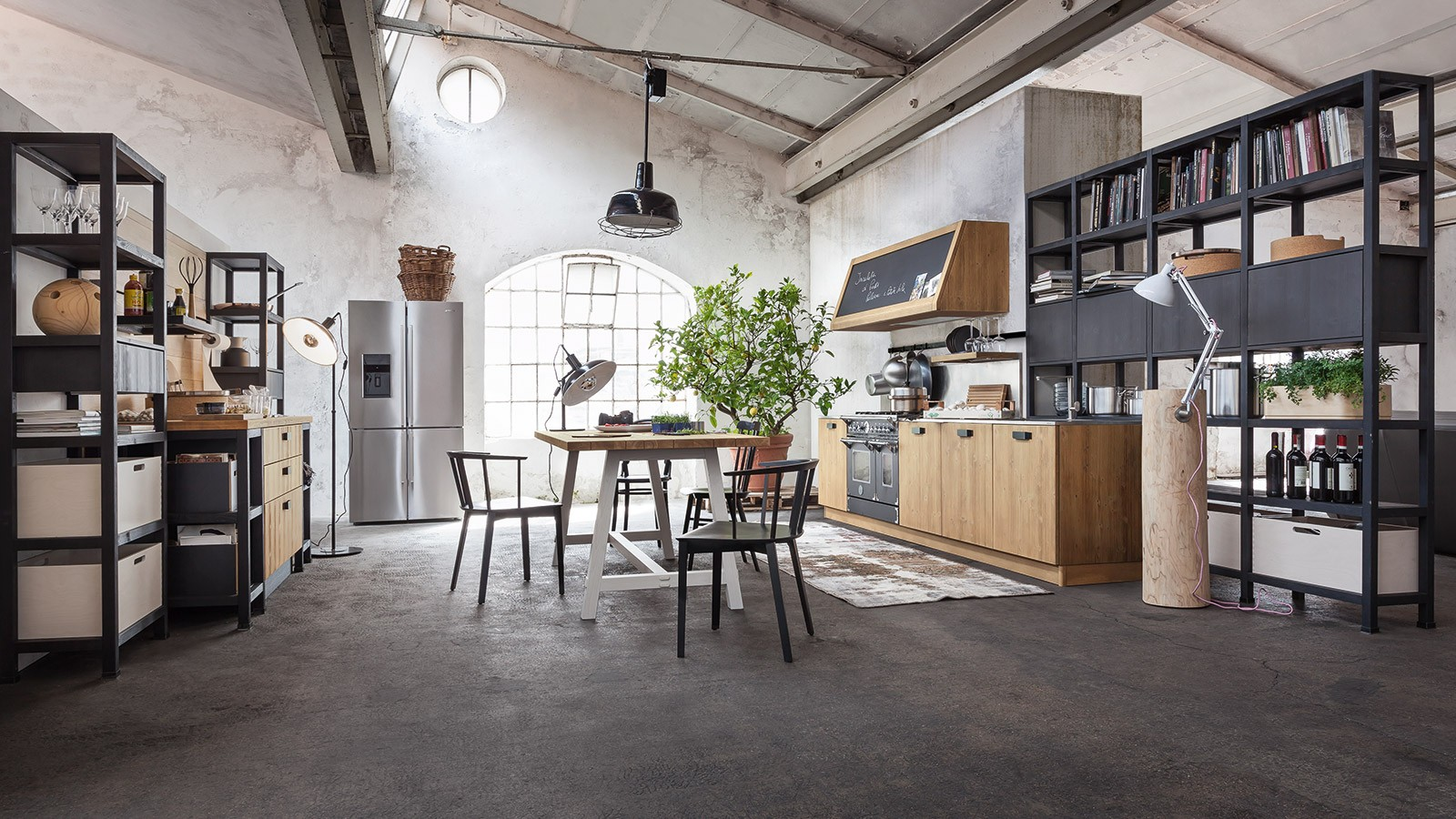 Arredamento Urban Cucina Pictures To Pin On Pinterest #7A6751 1600 900 Arredamento Cucina Piccola Nuova Costruzione
