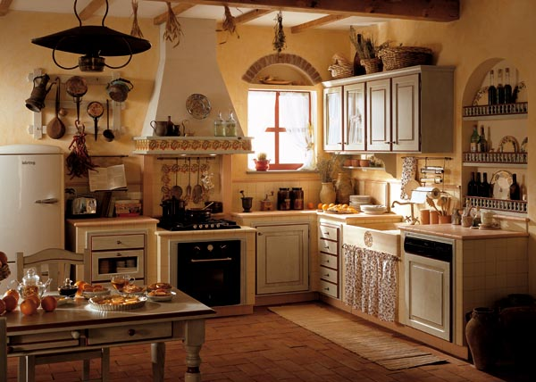 Beautiful cucine muratura toscana contemporary for Arredamenti poggibonsi